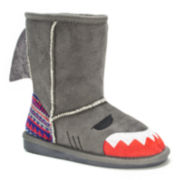 MUK LUKS® Finn Shark Girls Boots - Toddler