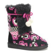 MUK LUKS® Jewel Girls Boots - Little Kids