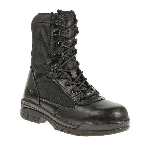 "Bates® 8"" Steel-Toe Mens Slip-Resistant Work Boots"