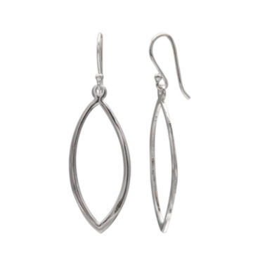 jcpenney.com | Sterling Silver Marquise-Shaped Drop Earrings