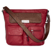 Rosetti® Jackpot Two-Tone Satchel