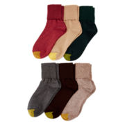 Gold Toe® Womens 6-pk. Turn-Cuff Socks