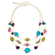 Mixit™ Multicolor Illusion Necklace