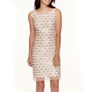 Studio 1® Sleeveless Beaded Sheath Dress