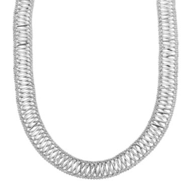 jcpenney.com |  Sterling Silver Woven X-Design Necklace