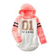 OshKosh B'gosh® Graphic Hoodie - Preschool Girls 4-6x