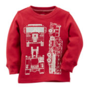 Carter's® Long-Sleeve Fire Truck Thermal Tee - Preschool Boys 4-7