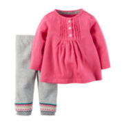 Carter's® Tunic and Pants - Baby Girls newborn-24m
