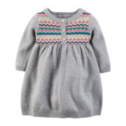 Carter's® Sweater Dress - Baby Girls newborn-24m