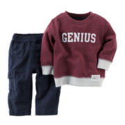 Carter's® Genius Sweatshirt and Pants - Baby Boys newborn-24m