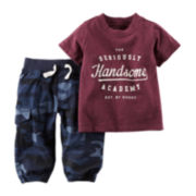 Carter's® Graphic Tee and Pants - Baby Boys newborn-24m