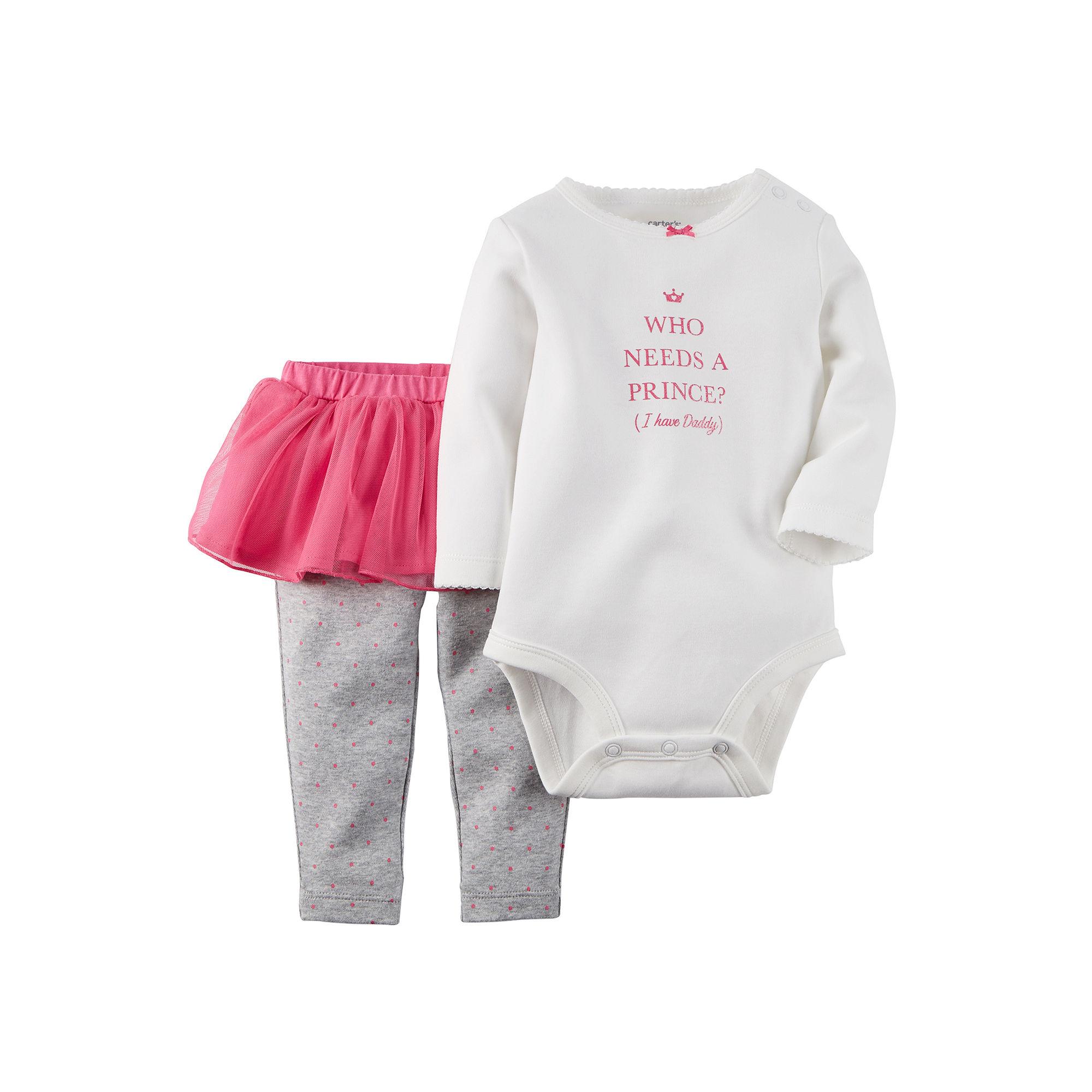 7cb3e4d1ae4 UPC 888510951711 - Carter's Bodysuit and Tutu Leggings - Baby Girls ...