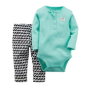 Carter's® Scottie Bodysuit and Pants - Baby Girls newborn-24m