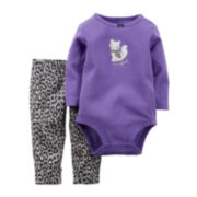 Carter's® Kitty Bodysuit and Pants - Baby Girls newborn-24m