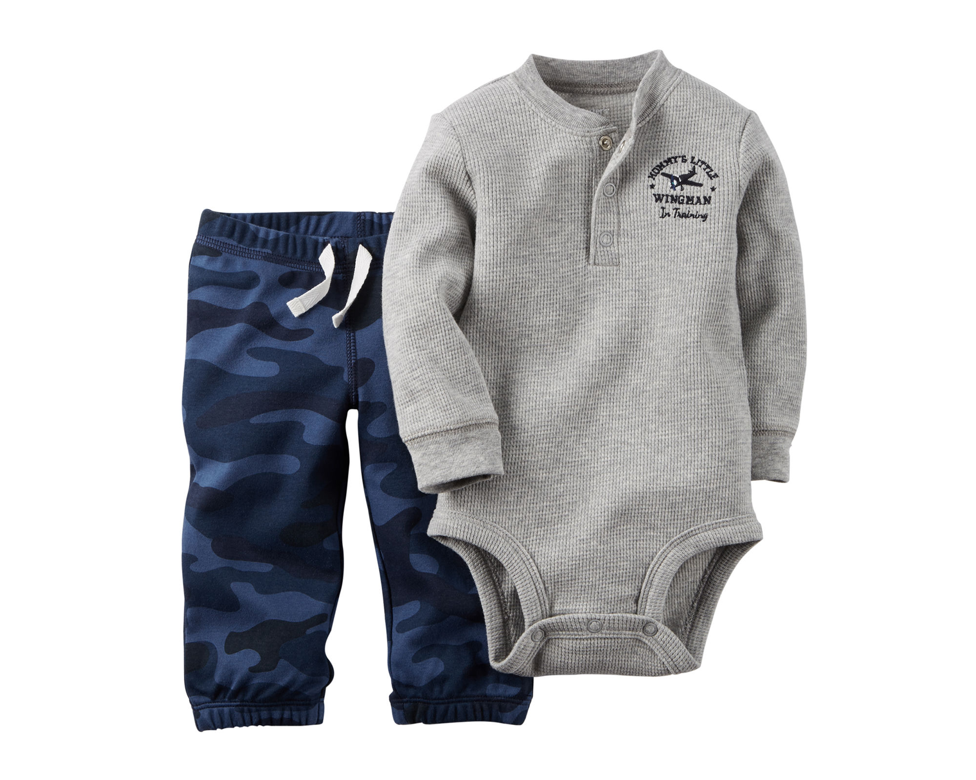 UPC Carter s Thermal Bodysuit and Pants Baby Boys