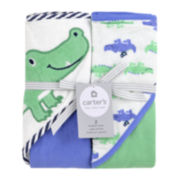 Carter's® 2-pk. Hooded Gator Towel Set