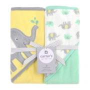 Carter's® 2-pk. Hooded Elephant Towel Set