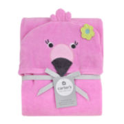 Carter's® Hooded Flamingo Towel