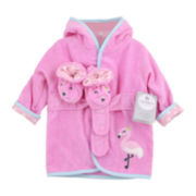 Carter's® Flamingo Robe and Booties