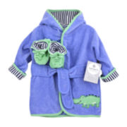 Carter's® Gator Robe and Booties