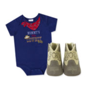 Baby Essentials® 2-pc. Cowboy Apparel Set - Baby Boys One Size