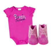 Baby Essentials® 2-pc. Cowgirl Apparel Set - Baby Girls One Size