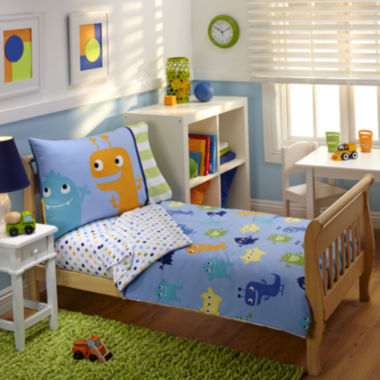 jcpenney.com | NoJo® Monsters 4-pc. Toddler Bedding Set