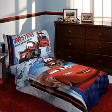 jcpenney.com | Disney Cars 4-pc. Toddler Bedding Set