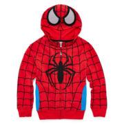 Spider-Man Zip-Front Hoodie - Preschool Boys 4-7
