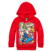Super Mario Fleece Pullover Hoodie - Preschool Boys 4-7x