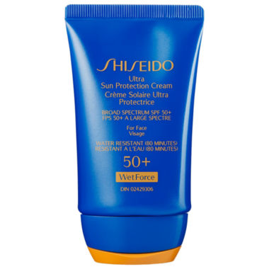 jcpenney.com | Shiseido Wetforce Ultimate Sun Protection Cream Broad Spectrum Spf 50+ For Face