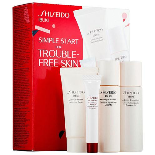 Shiseido Simple Start For Trouble-Free Skin Ibuki Set