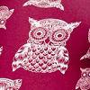 Burgundy Owl
