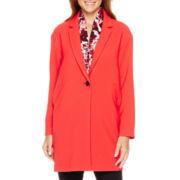 Liz Claiborne® Cocoon Coat - Tall
