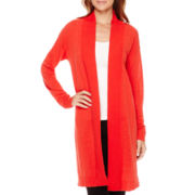 Liz Claiborne® Long-Sleeve Duster