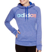 adidas® Long-Sleeve Ultimate Fleece Hoodie