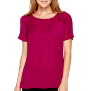 Worthington® Short-Sleeve Blouse