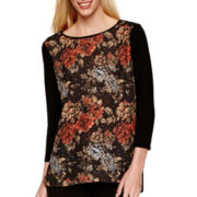 i jeans by Buffalo 3/4-Sleeve Print Top