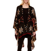 i jeans by Buffalo Aztec Print Poncho, 3/4-Sleeve Top or Leggings