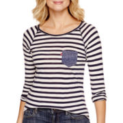 Levi's® Long-Sleeve Striped T-Shirt