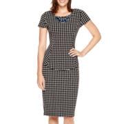 Alyx® Print Peplum Top or Pencil Skirt