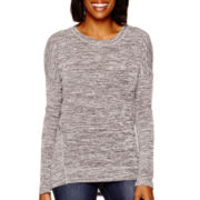 Stylus™ Long-Sleeve Textured Knit Top