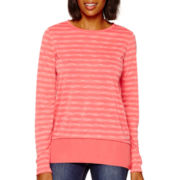 Stylus™ Long-Sleeve Striped Layer T-Shirt - Tall