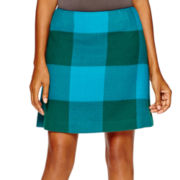 Stylus™ Plaid Skirt