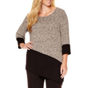 Alyx® Long-Sleeve Asymmetrical Top - Plus