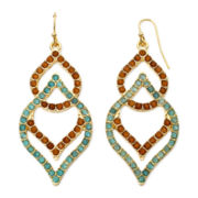 Decree® Open Teardrop Earrings