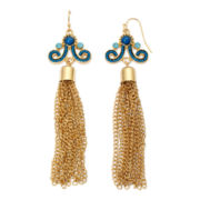 Decree® Tassel Drop Earrings