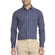 Van Heusen® Night Stripes Long-Sleeve Woven Shirt