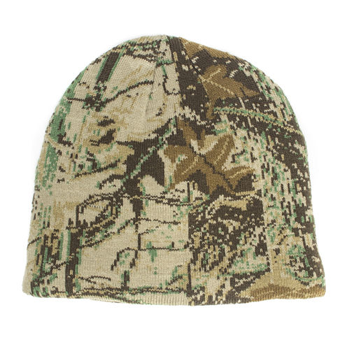 QuietWear® Digital Camo Knit Beanie