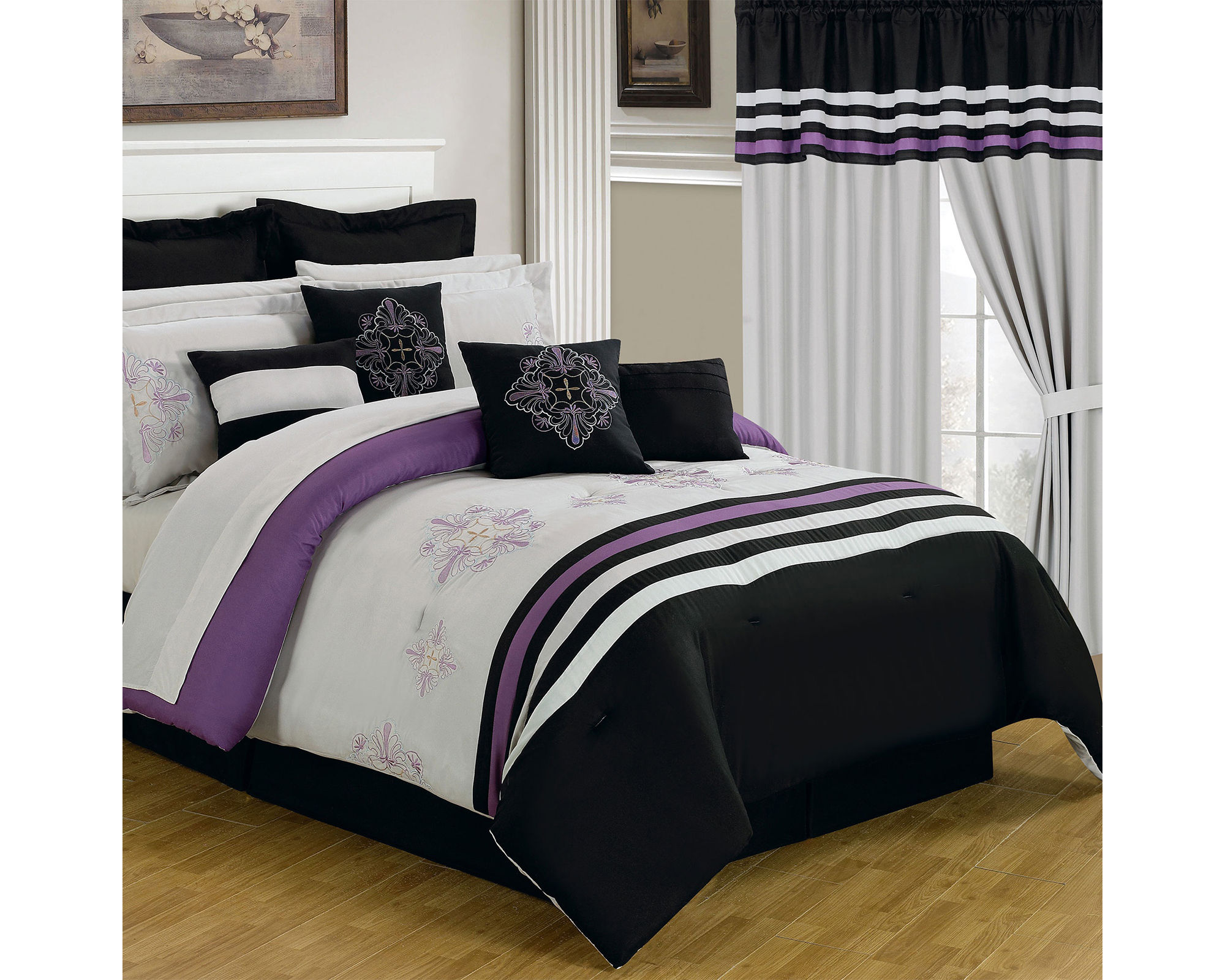 Cambridge Home Rachel Complete Bedding Set with Sheets